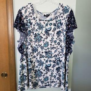 Paisley 3X blouse